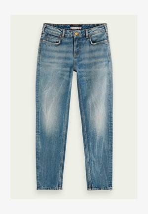 PARADISE SEEKERS | MID-RISE   - Slim fit jeans - blue