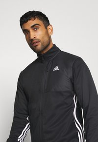 adidas Performance - Zip-up hoodie - black - 3