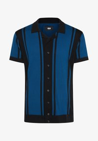 WE Fashion - WE FASHION HEREN FIJNGEBREIDE POLOTRUI - Shirt - dark blue - 4