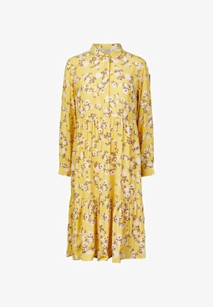 BLUMENPRINT - Skjortekjole - ceylon yellow