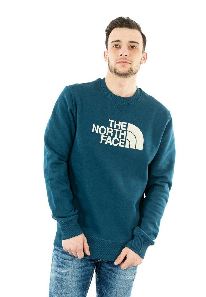 The North Face - DREW PEAK - Sweater - monterey blue