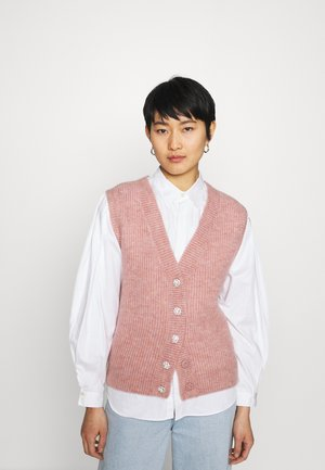 HARRIETTE - Cardigan - old rose melange