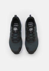 Nike Performance - CITY REP TR - Sports shoes - black/white/dark smoke grey - 3