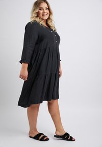 No.1 by Ox - CLAIRE - Day dress - black - 1