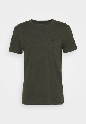 ULTIMATE POCKET TEE - Basic T-shirt - serpico green