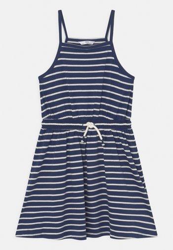 BUNDLE DRESS - Jersey dress - navy