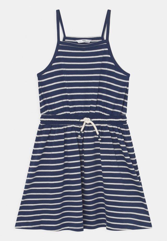 BUNDLE DRESS - Žerzejové šaty - navy