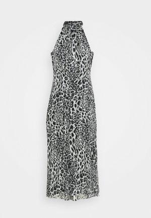 ADRIAN LEOPARD DRESS - Day dress - grey