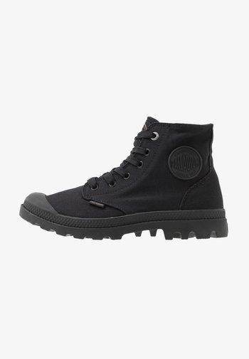 MONO CHROME UNISEX - Lace-up ankle boots - black