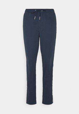 SIDE STRIPE PANT - Trousers - twilight navy