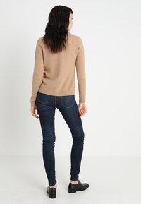 Selected Femme - SLFIDA SKINNY - Jeans Skinny Fit - dark blue denim - 2