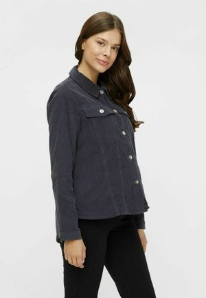 PCMPOLLY SHACKET - Button-down blouse - ombre blue