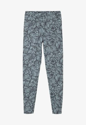 Leggings - Trousers - grigio st big peonia