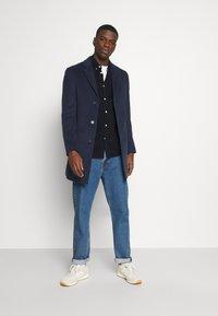 Isaac Dewhirst - NOTCH - Classic coat - dark blue - 1