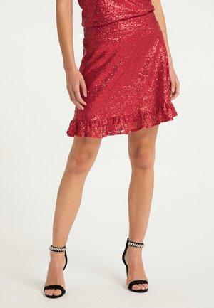 A-line skirt - rot