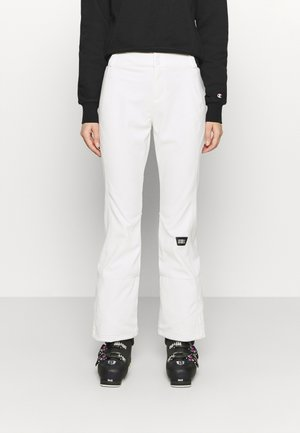 BLESSED PANTS - Skibukser - powder white