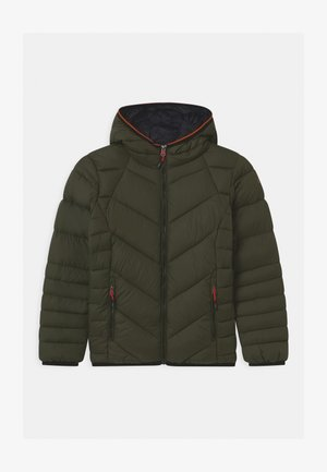 BOY FIX HOOD - Winter jacket - oil green