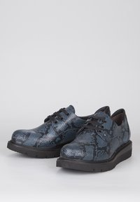 TJ Collection - DERBIES - Casual lace-ups - dark blue - 2
