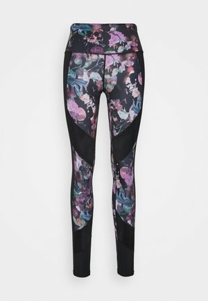 LEGGING WILD BLOOM - Medias - black