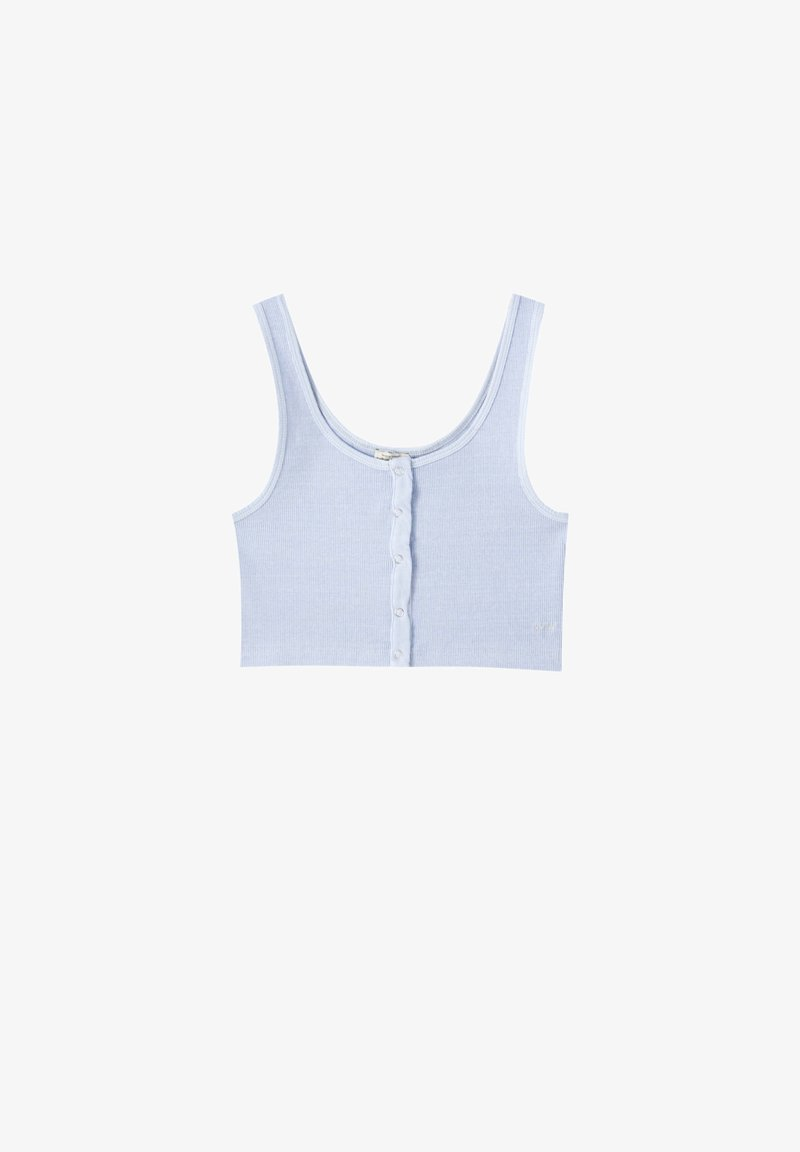 PULL&BEAR - Top - light blue