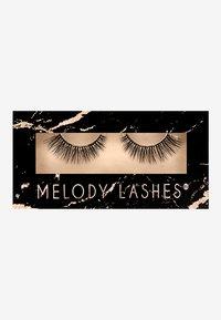 Melody Lashes - WISPY CHIC - False eyelashes - black - 0