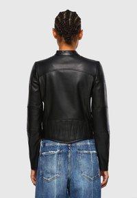 Diesel - Leather jacket - black - 2