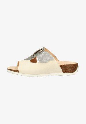 Pantofle - ivory