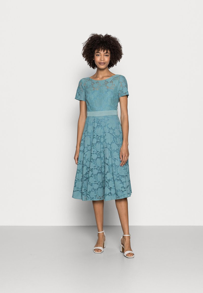 Esprit Collection - Cocktail dress / Party dress - dark turquoise
