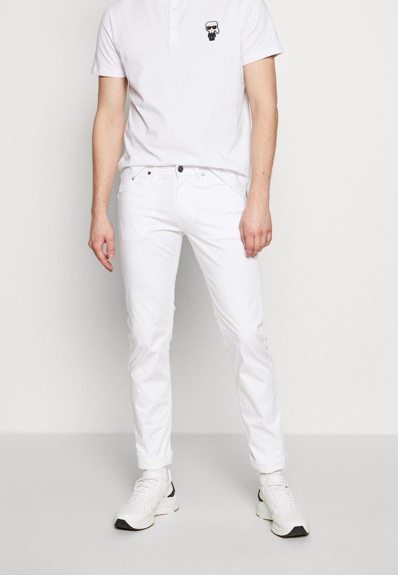 KARL LAGERFELD - Kalhoty - white