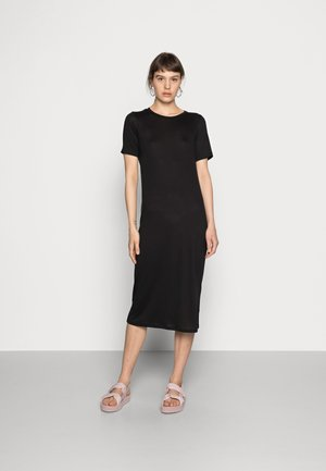 BEYOND DRESS - Jersey dress - black