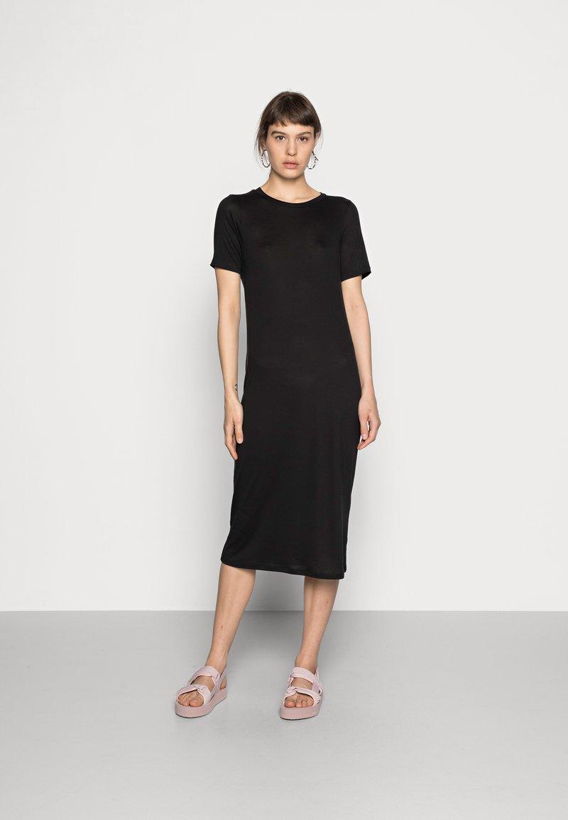 Weekday - BEYOND DRESS - Jerseykjole - black
