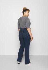 Levi's® Plus - 725 PL HR BOOTCUT - Straight leg jeans - bogota shake plus - 2