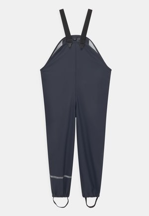 BASIC RAIN UNISEX - Rain trousers - dark navy
