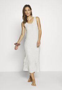 Marks & Spencer London - NIGHTDRESS - Nattskjorte - oatmeal - 1