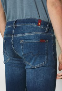 7 for all mankind - SLIMMY TAP - Vaqueros slim fit - mid blue - 5