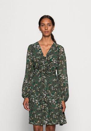BARBEL SHORT DRESS - Day dress - green olive