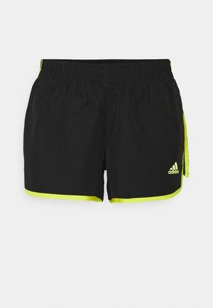 SHORT - Pantaloncini sportivi - black/acid yellow
