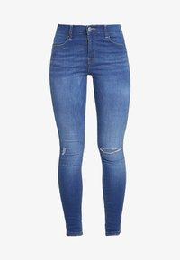 LEXY - Skinny džíny - dark laguna blue