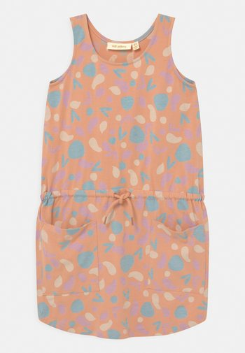 HAZEL  - Jersey dress - coral