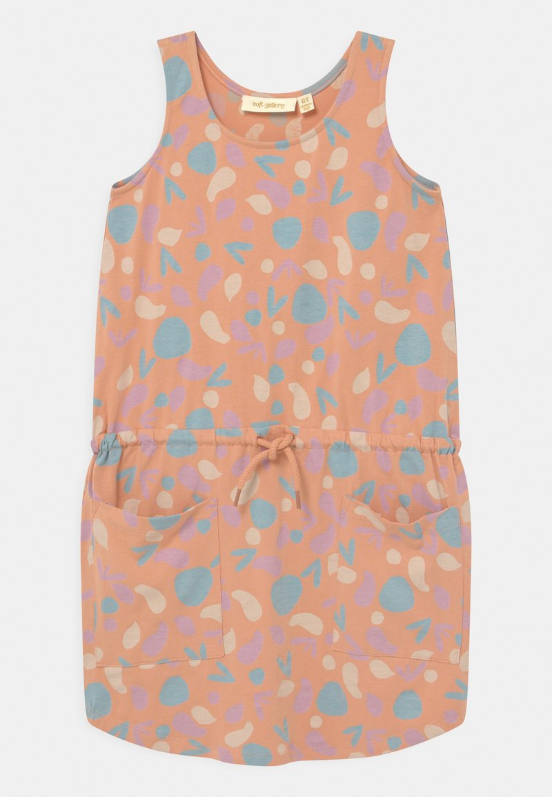 Soft Gallery - HAZEL  - Jersey dress - coral