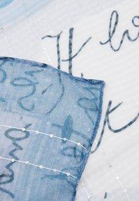 Desigual - FOU ART PICTURE - Scarf - azul tinieblas - 4