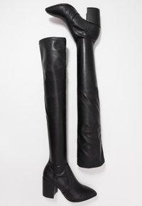 Steve Madden - JANEY - Over-the-knee boots - black paris - 3