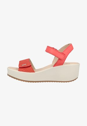Wedge sandals - tulipano