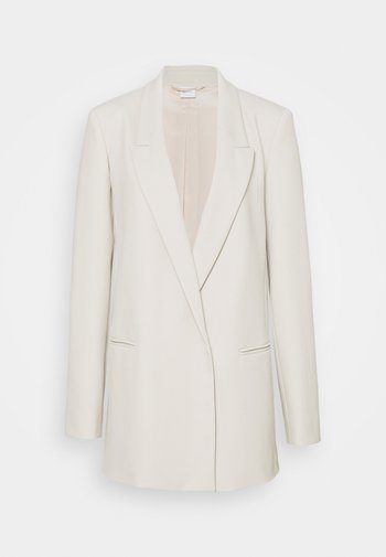 AIA - Short coat - perlgrau