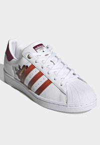 adidas Originals - SUPERSTAR SPORTS INSPIRED SHOES - Baskets basses - ftwr white/power berry/pink tint - 3