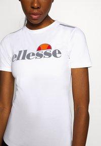 Ellesse - DELLE - Print T-shirt - white - 6