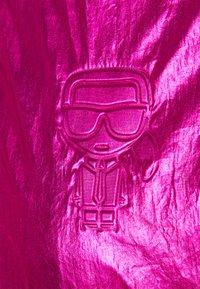 KARL LAGERFELD - IKONIK - Bombertakki - metallic pink - 2