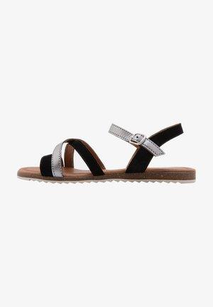 Sandals - black/antracite