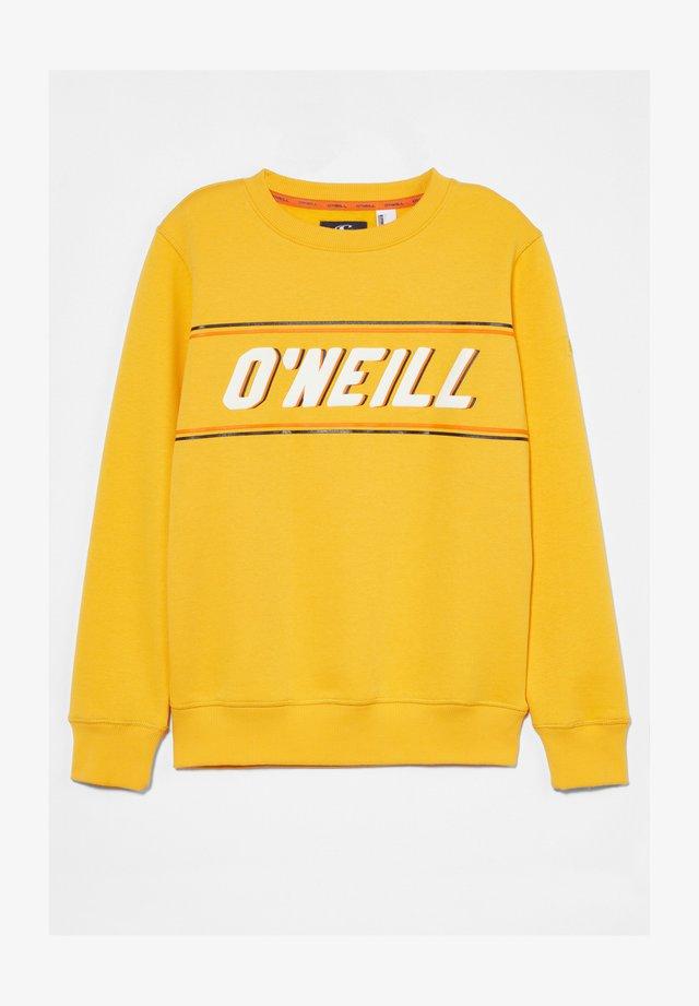 Sweatshirt - old gold