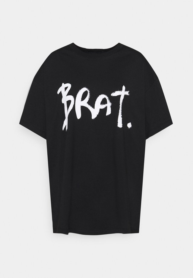 BRAT - Print T-shirt - black